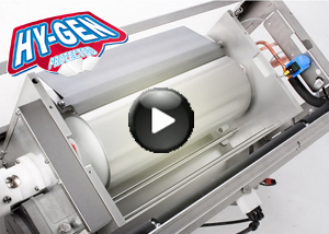 HY-GEN flake ice machines for improved hygienic ice production | Play video