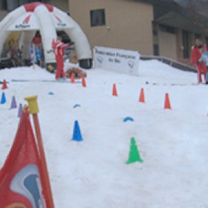 Artificial snow projects