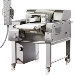 Loin and bacon defatting machines
