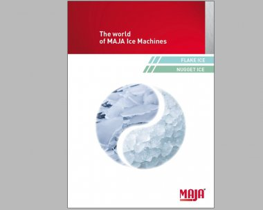 The world of MAJA ice machines: New catalogue is available now - new products and options!