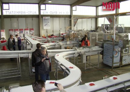 Workshop for MAJA partners: presentation of the MAJA FPE portioning line for fresh meat
