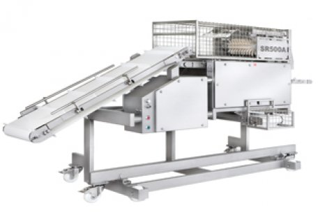 Fully-automatic membrane skinning machine SR 500 A